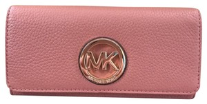 Michael Kors Fulton Flap Antique Rose