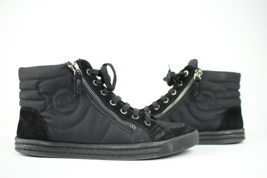 Chanel Runners Trainers Fashion Sneaker Tennis Black Athletic Image 1