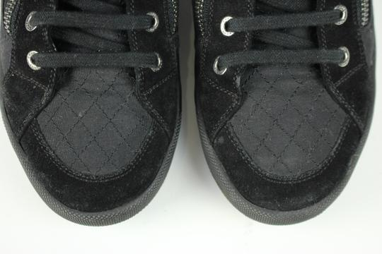 Chanel Runners Trainers Fashion Sneaker Tennis Black Athletic Image 6