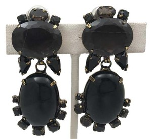 iRADJ Moini NEW SIGNED IRADJ MOINI ONYX DROP EARRINGS COLLECTIBLE