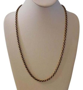 Napier Vintage Rope Chain Necklace 24
