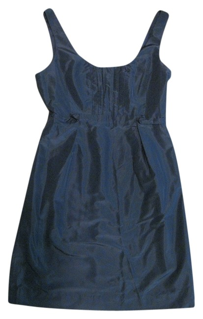 J.Crew Silk Taffeta Bridesmaid Scoop Back Dress