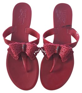 Salvatore Ferragamo Red Sandals