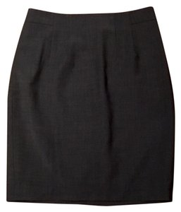 Ann Taylor Skirt Heather Grey
