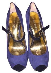 Nine West black blue and gold Pumps