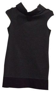 Express short dress Dark Grey And Black on Tradesy