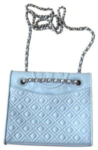 Tory Burch powder blue Messenger Bag