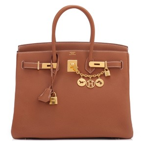 Hermès Birkin Birkin 35 Birkin 35 Birkin Tan Birkin Tote in Gold
