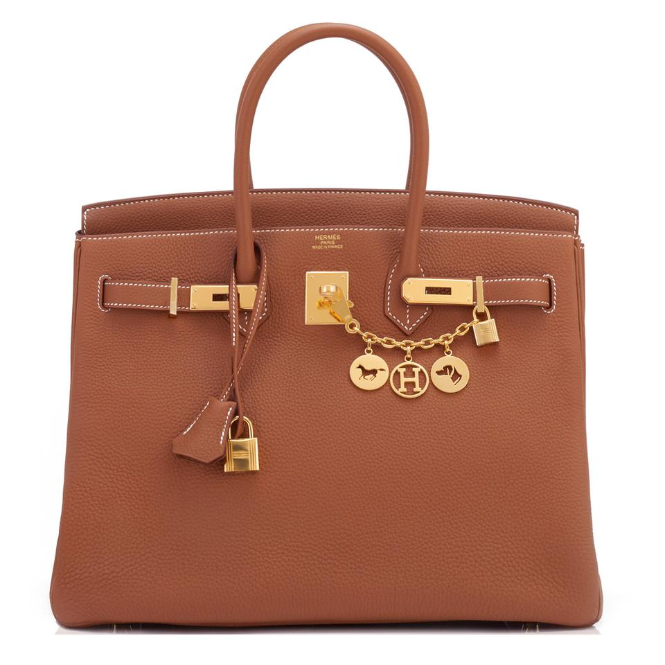 5014b6f73969 Hermès Birkin Birkin 35 Birkin 35 Birkin Tan Birkin Tote in Gold Image 0 ...