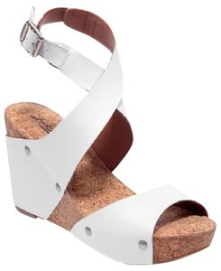 Lucky Brand White Wedges