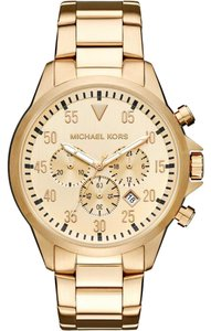 Michael Kors Michael Kors Men' sGage Gold-Tone Watch MK8491