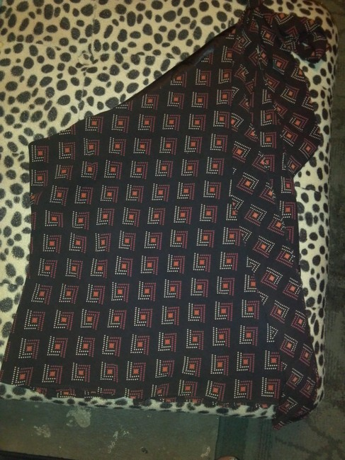 Laundry by Shelli Segal Top Brown, multi
