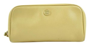 Chanel Beige Caviar Make Up Pouch 47CCA3917