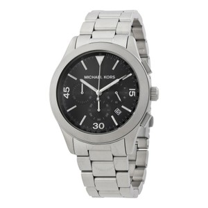 Michael Kors Michael Kors Men Cronograph Gareth Black Dial Watch MK8469