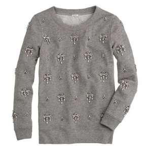 J.Crew Jeweled Sweatshirt