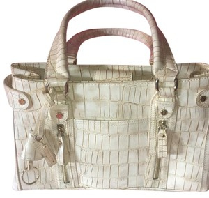 Liz Claiborne Satchel in Cream Beige