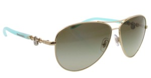 dafc029f5ed2 Tiffany   Co. NEW Locks Aviator Sunglasses TF 3034 c. 6021 3M in
