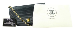 Chanel Woc Wallet On Chain Classic Flap Crescent Half Moon Shoulder Bag