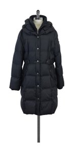 DKNY Dark Grey Nylon Coat