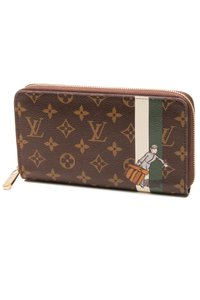 Louis Vuitton Louis Vuitton Limited Edition Monogram Groom Zippy Organizer Wallet