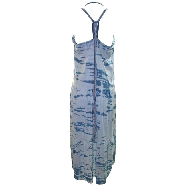 Blue Combo Maxi Dress by Woodleigh Tie Dye Rayon Image 1