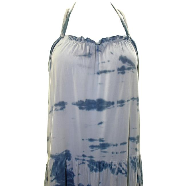 Blue Combo Maxi Dress by Woodleigh Tie Dye Rayon Image 2