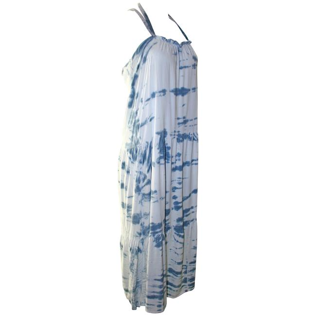 Blue Combo Maxi Dress by Woodleigh Tie Dye Rayon Image 3