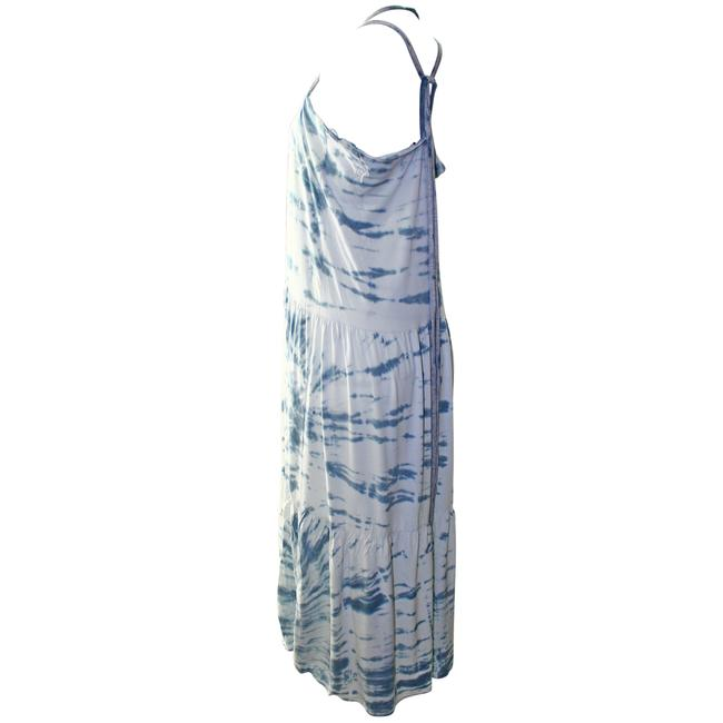 Blue Combo Maxi Dress by Woodleigh Tie Dye Rayon Image 4