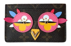 Louis Vuitton 50$ OFF ! NEW & SOLD OUT ! Limited Edition ROOSTER/OWL card holder/wallet