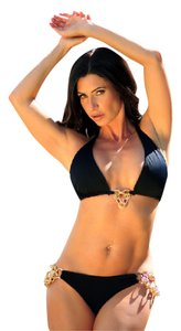 Re'veil Swimwear Gold Chain Bikini ++++ Pick your size XS, S, M, L