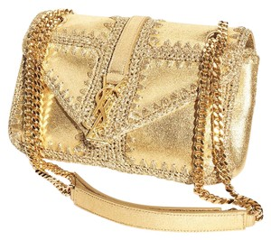 Saint Laurent Kate Cassandra Monogram Chain Woc Shoulder Bag