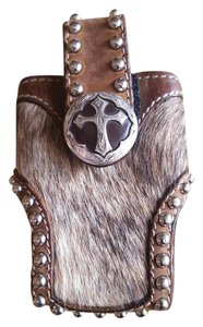 """Other """"WESTERN COWHIDE CELL CASE"""""""