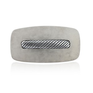David Yurman David Yurman Sterling Silver Sand Blasted Belt Buckle