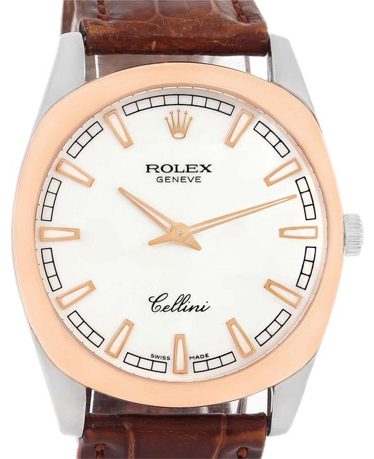 Rolex White Cellini Danaos 18k and Rose Gold Mens 4243 Watch Rolex White Cellini Danaos 18k and Rose Gold Mens 4243 Watch Image 1