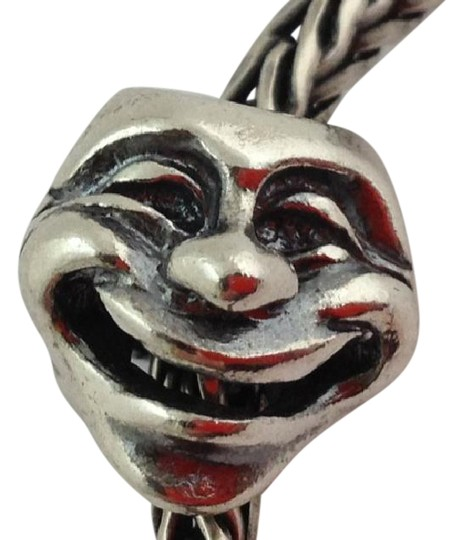 Trollbeads Trollbeads Theatre Masks Sterling Silver Bead Charm, 11315 Image 0