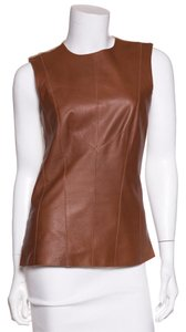 Derek Lam Top Cognac & Tan
