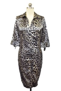 Zara Leopard Print Animal Print Dress