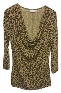 Alloy Apparel Night Out Date Night Casual Sleek Top leopard