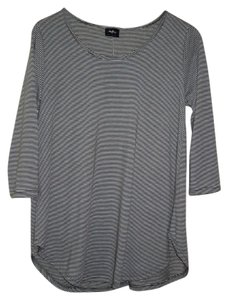 Daytrip Striped T Shirt Olive