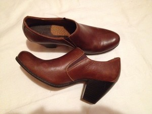 B.O.C. Leather Upper red brown Boots