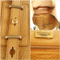 Belstaff Luxury Leather Made In Italy Unisex Tote in Camel brown Image 6
