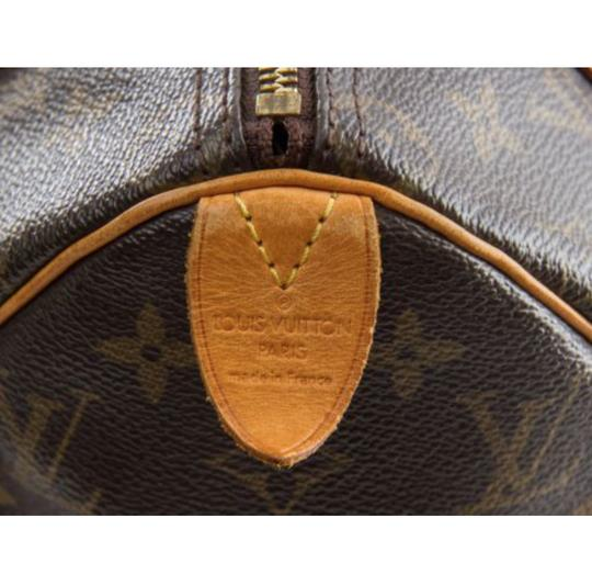 Louis Vuitton Speedy Classic Coated Canvas Satchel in Monogram