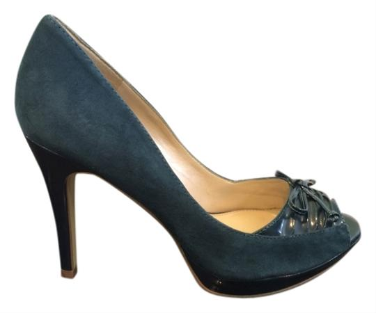 Marc Fisher Teal Pumps