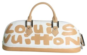 Louis Vuitton Stephen Sprouse Graffiti Satchel in beige