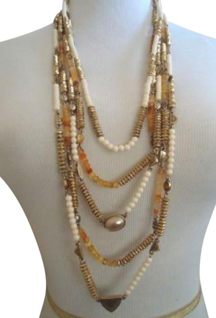 Two Tone Metal Jlry3435 Necklace Two Tone Metal Jlry3435 Necklace Image 1