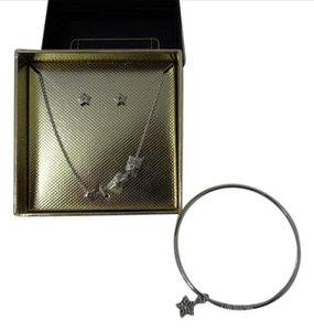 Coach Authentic COACH Boxed Gift set STAR Earings, Necklace and Bracelet