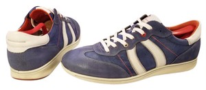 Ecco Man Man Sneakers For Man Blue and white Athletic