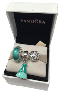 PANDORA Pandora Ariel Disney 3 piece charm set / little mermaid
