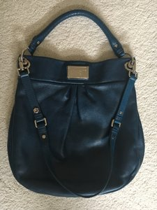 Marc by Marc Jacobs Classic Q Hillier Blue Hobo Bag