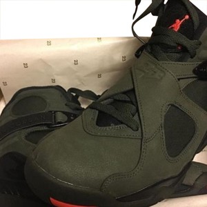 Jordan 8 take flight green Athletic